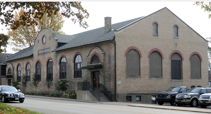 Village officials hope to see more activity in the Hortonville Opera House.  Scott Bellile file photo