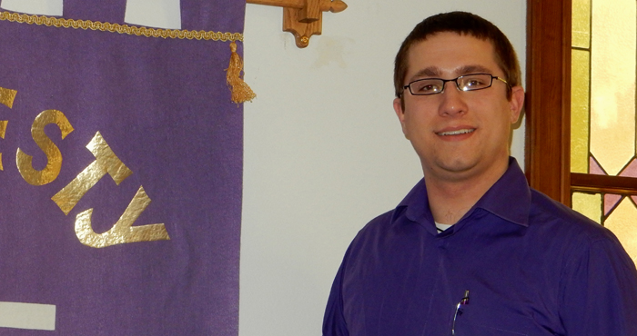 Rev. Eric Taylor is the new pastor at Parfreyville United Methodist Church.  Robert Cloud Photo