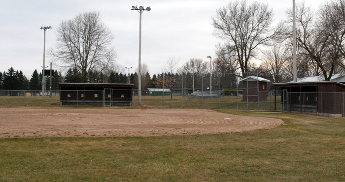 A Christian softball league and Clintonville Youth Baseball want to use the ball diamonds at Bucholtz Park in Clintonville on Tuesday nights this summer. A compromise was reached between the two groups.  Bert Lehman photo
