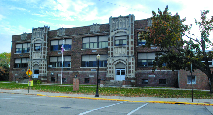 The community will be surveyed in the fall as to what to do with the current elementary school facility.  Bert Lehman file photo