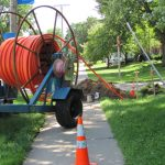 Gov. Scott Walker proposes bringing fiber optic cable to more Wisconsin communities to increase internet speeds. Photo courtesy of Amherst Telephone Company
