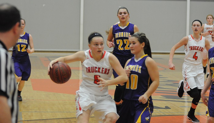Freshman Abby King scored a season-high 12 points. Erik Buchinger photo