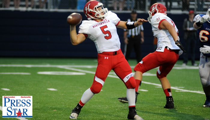 Cole Hyde made his first career start at quarterback for the Polar Bears.