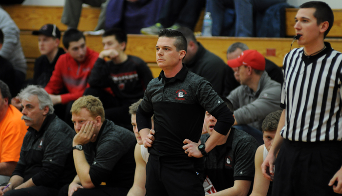 New London boys' basketball coach Kurt Schommer joins the show after the Bulldogs game against Seymour on Thursday night.
